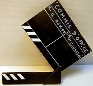 CLAP original - COMMIS D'OFFICE - G.AGHION- 1995 - 13,5 x 15 cm