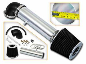 RACING RAM AIR INTAKE Kit + BLACK Filter For Jeep 97-04 Grand Cherokee 4.0L I6