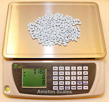 DIGITAL COUNTING PARTS COIN SCALE 3.3 x .0001 LB 1.5 KG x 0.05 G INVENTORY PAPER