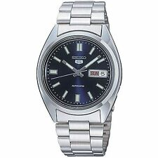 Seiko 5 Mens Blue Dial Automatic Watch SNXS77