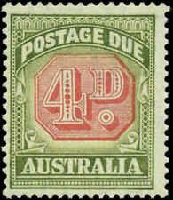 Australia Scott #J68 Mint Never Hinged