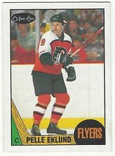 1987-88 OPC HOCKEY #98 PELLE EKLUND ROOKIE - EXCELLENT+