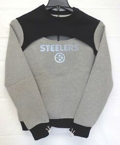 Pittsburgh Steelers Women's M Scout Sweatshirt Touch by Alyssa Milano