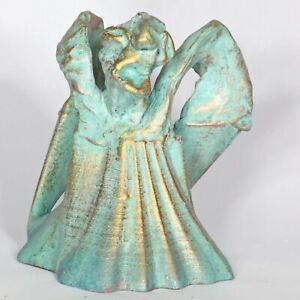 "Art sculpture ""Angel 5"" 14 cm unique Andreas Loeschner-Gornau"