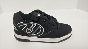 Heelys Propel 2.0 Skate Shoes, Black, Big Kids 4 M