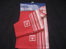 AFL SYDNEY SWANS Tea Towels (2 pack) 50cm x 70cm - NEW!