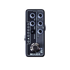 New Mooer Two Stones 010 Digital Micro PreAmp Guitar Effects Pedal