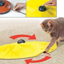 Pet Cat Meow Toy V4 Electronic Interactive Undercover Mouse Cat Kitten Toys.