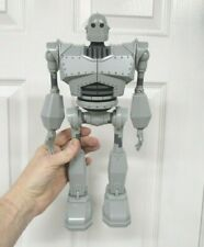 "The Iron Giant 14"" Robot Electronic Figure Talking Lights Sound Walking Walmart"