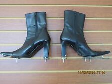 Women's Boots, Made in Italy,by Romanelli, Vero Curio,Black, Very Stylish,SZ 6.5
