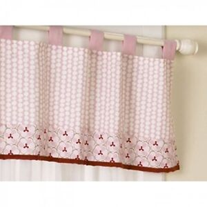 NEW Cocalo Aubrey Window Valance 36 x 46 Inch Window Girl Nursery