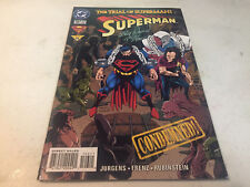 SIGNED RON FRENZE SUPERMAN #106 1ST PRINTING DC COMICS NOV 1999THE TRIAL OF