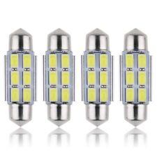 4X AMPOULE LAMPE NAVETTE C5W 36MM 6LED 5630 ANTI ERREUR ENVOI DE FRANCE SUIVI