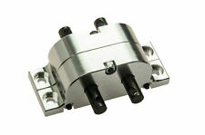Alloy Metal Transfer Case For 1/10 Scale RC Crawler Truck SCX10 RC4WD D90 Silver