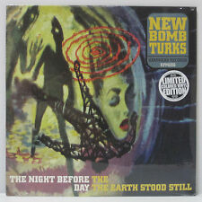 NEW BOMB TURKS - The Night Before.. LP 2002 ORIG SEALED MINT TURQUOISE VINYL