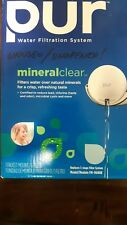 Water Filtration System PUR Mineral Clear Model# FM-9600B