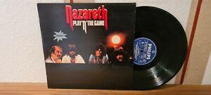 "NAZARETH "" PLAY'N' THE GAME "" LP"