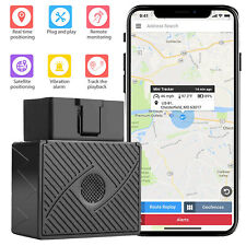 OBD II OBD2 Vehicle Car GPS Tracker Realtime Tracking Security Device GSM GPRS
