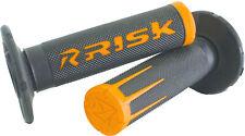 Fusion 2.0 Motorcycle Grips Orange Risk Racing 00287