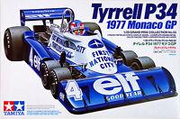 TAMIYA 1:20 KIT TYRRELL P34 1977 MONACO GP CON PILOTA INCLUSO ART 20053