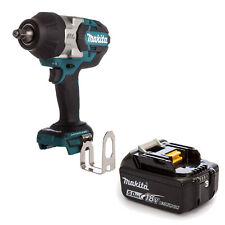 MAKITA 18V LXT DTW1002 DTW1002Z DTW1002RFE IMPACT WRENCH AND BL1850 BATTERY