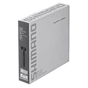 Shimano SIS SP41 Outer Gear Casing 4mm - Sold Per Metre Black