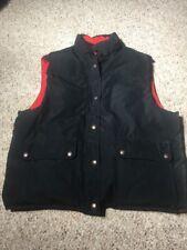 Polo Ralph Lauren Mens XL Reversible Blue Tan Brown Puffer Down Filled Vest