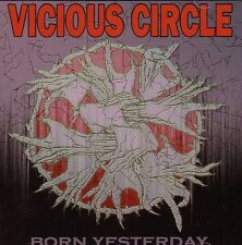 VICIOUS CIRCLE – BORN YESTERDAY CD battery warzone punk