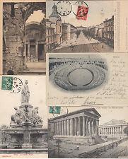 Lot 100 cartes postales anciennes de 1900 à 1935 NIMES 3