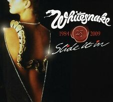 Whitesnake Slide It in 25th Anniversary CD US Remix Bonus Tracks DVD