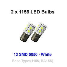 2x 1156 (BA15S) 13 SMD 5050 - White - Tail Brake Turn Signal Rear Bulb