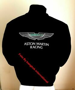 ASTON MARTIN-JACKET-BLOUSON-JAQUETTE.-  RACING TEAM  ALL LOGO IN BRODERY