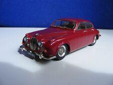 Jaguar 3.8 Litre MK2 Saloon - 1:43 White Metal Model - Boxed