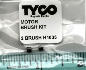 TYCO MOTOR BRUSH KIT PART # H1035 FOR TYCO TRAINS MADE IN HONG KONG NEW PARTS