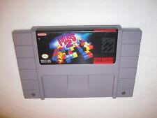 Tetris 2 (Super Nintendo SNES) Game Cartridge Excellent!