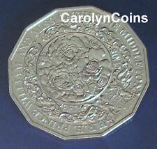 50 Cent Coin 2010 Royal Engagement William & Catherine Middleton Australian 50c