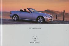 Mercedes SLK Prospekt 2000 4/00 brochure R 170 brochure broszura brosjyre Auto