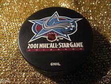 Colorado Avalanche 2001 All Star Game NHL Hockey Puck