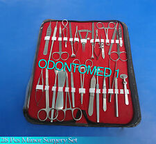 28 Pcs Eye Lid Micro Minor Surgery Surglcal Ophthalmic Instruments Set Kit