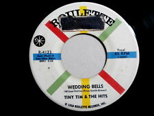 TINY TIM & THE HITS~WEDDING BELLS~VG++~ROULETTE 4123~DOLL BABY~TITTY~ DOO WOP 45