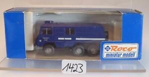 Roco 1/87 Nr. 1723 Steyr Puch Pinzgauer THW Technisches Hilfswerk OVP #1423