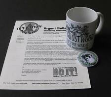 Twin Peaks Save Pine Weasel Ghostwood Mug Button Newsletter Package
