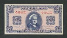 NETHERLANDS - 2 1/2 gulden  1945  P71  prac Uncirculated  ( World Paper Money )