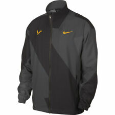 Nike Court Rafa Nadal Full Zip Tennis Jacket AJ8257 082 Thunder Grey New M