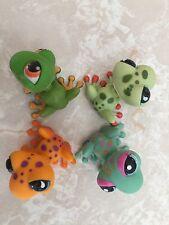 Littlest Pet Shop RARE Frog Toad #50 874 805 2357 Pink Orange Purple Lot