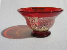 "Hizen Bidoro ""Red Sake Cup with Silver Leaves"" (Handcrafted in Saga)"
