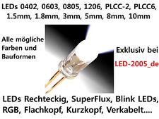 LED 1.5mm,1.8mm,3mm,5mm,8mm,10mm,plcc6,plcc2,1206,0805,0603,0402,12v,0.5w,1w,3w,