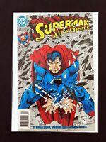 SUPERMAN IN ACTION COMICS #676 DC COMICS 1992 VF+ NEWSSTAND EDITION RARE!