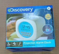 Discovery Digital Alarm Clock Sound Machine Glowing Stars Projection Nib New