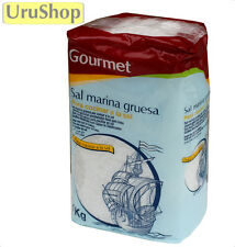 F93 Gourmet gruesa sal de mar: Sal Gruesa 1kg hornear en salt/cocinar un La Sal